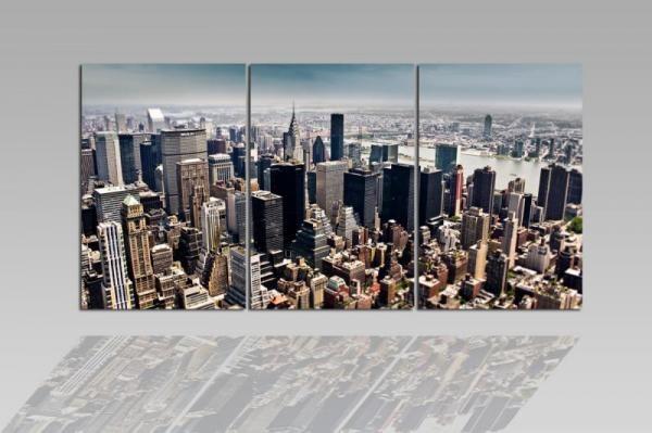 Digital Art vászonkép | 4098-S-R Manhattan