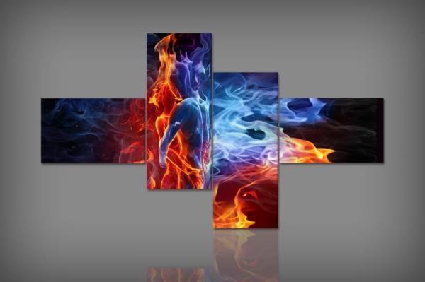 Digital Art vászonkép | 4955/440Q Elemental Love S