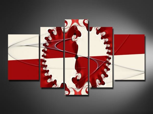 Digital Art vászonkép | 807 Red Fantasy -A
