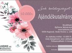 Esküvői utalvány 10 000 Ft