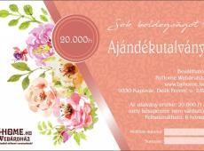 Esküvői utalvány 20 000 Ft