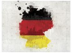 Fotótapéta - A nemzeti színek Németország