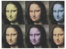 Fotótapéta - A titokzatos Mona Lisa mosolya