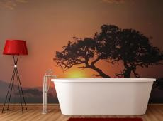 Fotótapéta - Africa: sunset