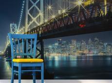 Fotótapéta - Bay híd éjjel