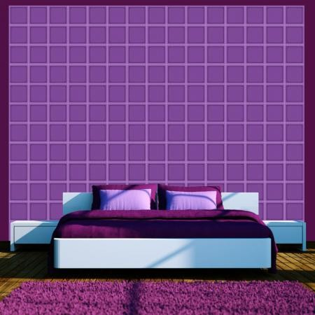 Fotótapéta - Blueberry geometry