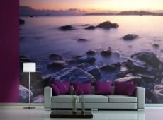 Fotótapéta - Calm tenger - sunset