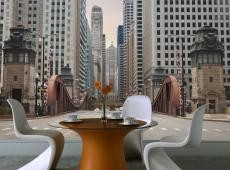 Fotótapéta - Chicago street