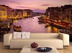 Fotótapéta - City of szerelmesek, Velence éjjel