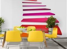 Fotótapéta - Colorful stairs