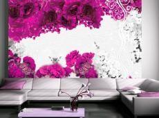 Fotótapéta - Colors of spring: fuchsia
