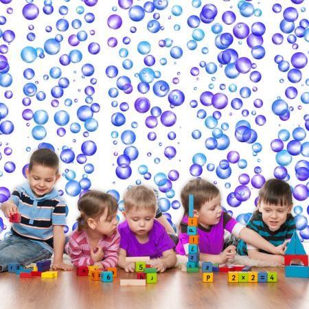 Fotótapéta - Colourful Bubbles