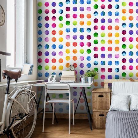 Fotótapéta - Colourful Dots