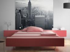 Fotótapéta - Csodálatos kilátás a New York-i Manhattan napkeltekor_KK