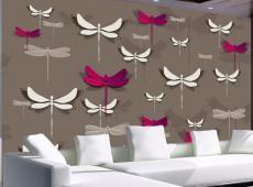Fotótapéta - Dancing dragonflies
