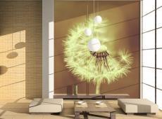 Fotótapéta - dandelion (sepia)