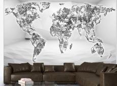 Fotótapéta - Diamond map