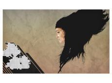 Fotótapéta - Digital girl