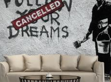 Fotótapéta - Dreams Cancelled (Banksy)