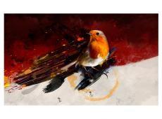 Fotótapéta - Festett madár