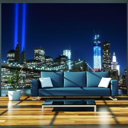 Fotótapéta - Floodlights over NYC