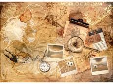 Fotótapéta - Football memories