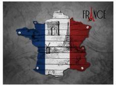 Fotótapéta - France (symbols)