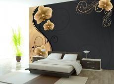Fotótapéta - Grace of the golden orchid