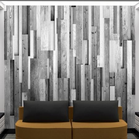 Fotótapéta - Gray wood