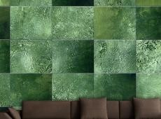 Fotótapéta - Green Puzzle