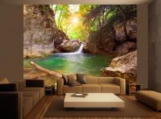 Fotótapéta - Hegyi folyó