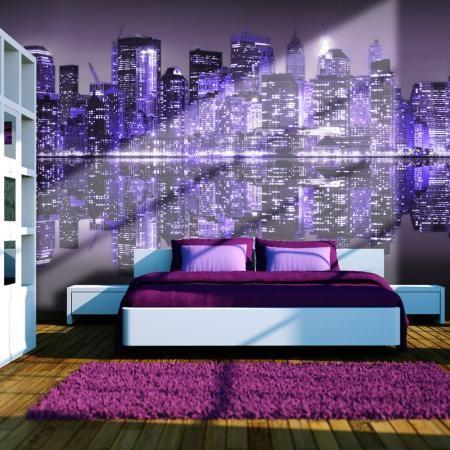 Fotótapéta - Into the violet - NYC