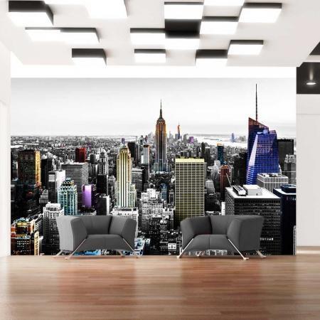 Fotótapéta - Iridescent skyscrapers
