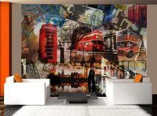 Fotótapéta - London kollázs