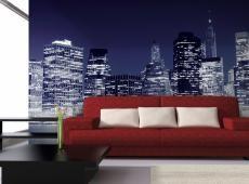Fotótapéta - Manhattan látképe este, New York City