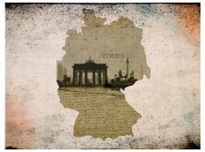 Fotótapéta - map, Germany, Brandenburg Gate