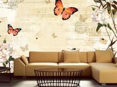Fotótapéta - Melodies of butterflies
