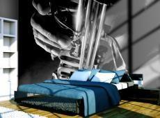 Fotótapéta - Music and saxophone