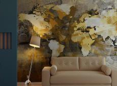 Fotótapéta - Művészeti világtérkép