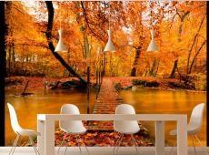 Fotótapéta - Őszi híd