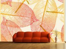 Fotótapéta - Őszi levelek minta