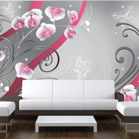 Fotótapéta - Pink orchids - variation