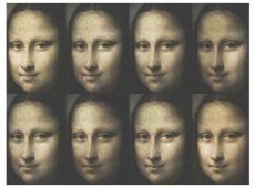 Fotótapéta - Portrait of Mona Lisa