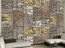 Fotótapéta - Puzzle with stones