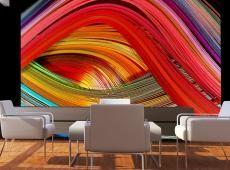 Fotótapéta - Rainbow gyapjú