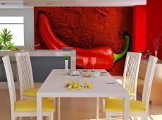 Fotótapéta - Red hot chili pepper