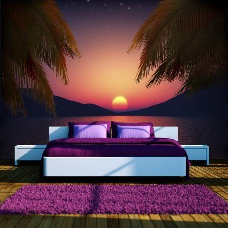 Fotótapéta - Romantic evening on the beach
