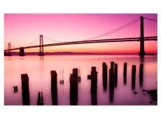 Fotótapéta - San Francisco-öböl lila, Kalifornia