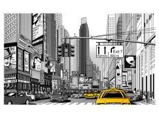 Fotótapéta - Sárga taxik in NYC