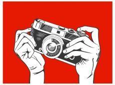 Fotótapéta - Say cheese!